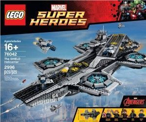 76042 The SHIELD Helicarrier caja - Brick Bang