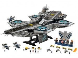 76042 The SHIELD Helicarrier set completo - Brick Bang